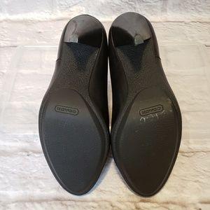 Coach Shoes - COACH Annika Black Leather Suede Ankle Boots 5
